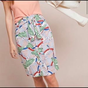 Anthro • 52 Conversations Shore Thing Skirt